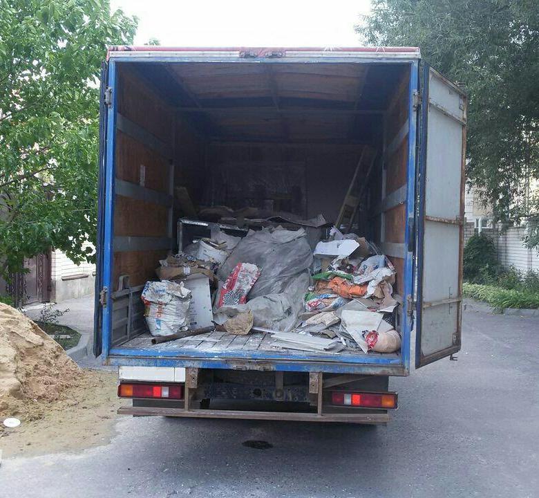 Вывоз строительного мусора в Вологде